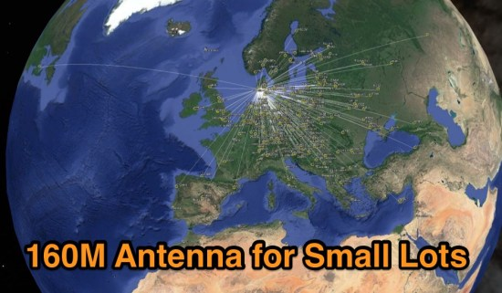 160M antenna for small lots or gardens