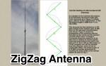 ZigZag Antenna - VHF/UHF unconventional antennas
