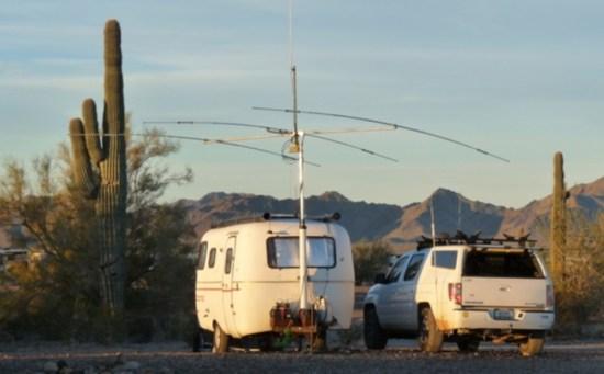 Camping with Ham Radio