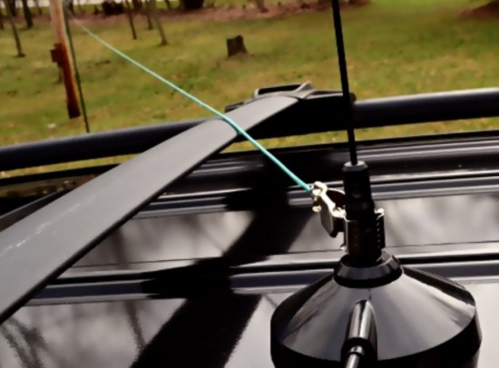 DIY NVIS Antenna Using a Mag Mount