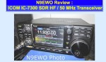 ICOM IC 7300 review by N9EWO