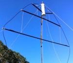 Портативная петля NVIS для 80m до 40m
