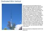 Dedicated 80m Vertical