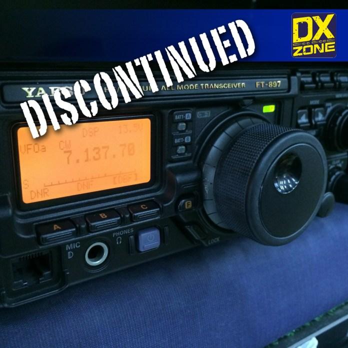 Yaesu FT-897D Discontinued