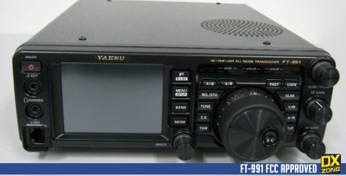 Yaesu FT-991 approved by FCC