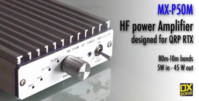 MX-P50M HF Power Amplifier