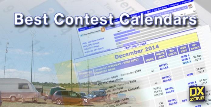 Best Contest Calendars