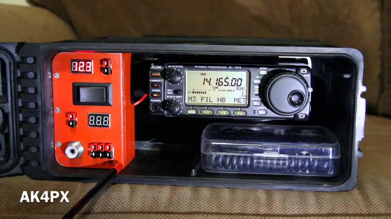 Ham Radio Go Box