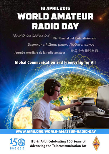 World Amateur Radio Day 2015