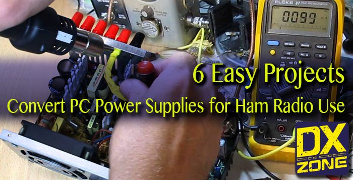 6 Easy Projects to Convert PC Power Supply to Ham Radio Use