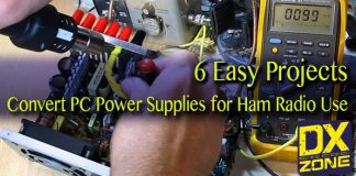 Convert PC Power Supply for Ham Radio