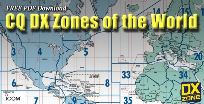 Cq dx zones world map free cq dx zones map gumiabroncs Images