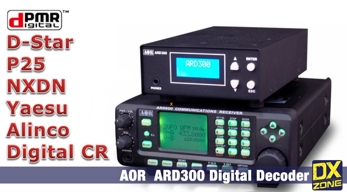 AOR ARD 300 Multi Mode Digital Voice Decoder