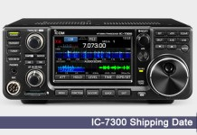 Icom IC-7300 shipping Date