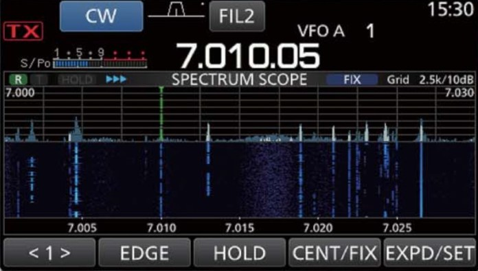 IC-7300 Spectrum Scope