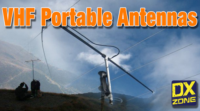VHF Portable Antenna