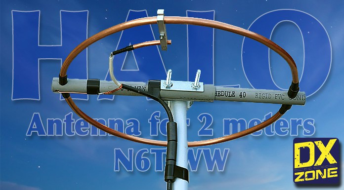 How to build a Halo Antenna for 2 meter band