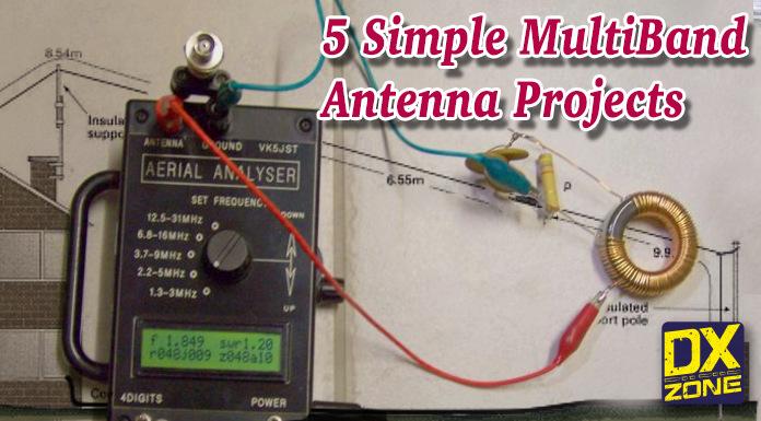 5 Simple Multiband Wire Antennas
