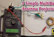 Simple HF Multiband Antenna