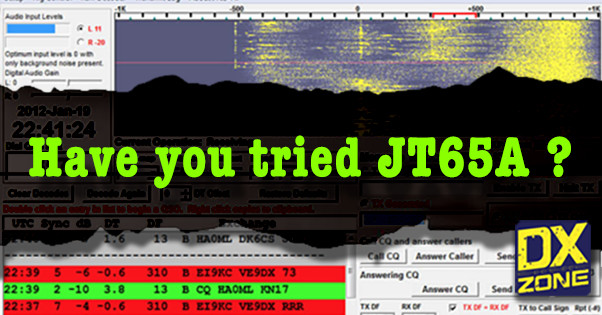 Have you tried the JT65A?