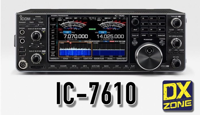 ICOM IC-7610 – Official announcement