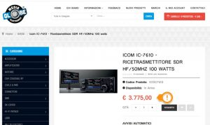 Icom IC-7610 Price
