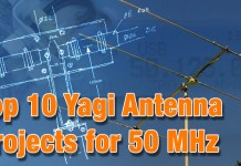 10 Yagi Antenna for 6 meter band