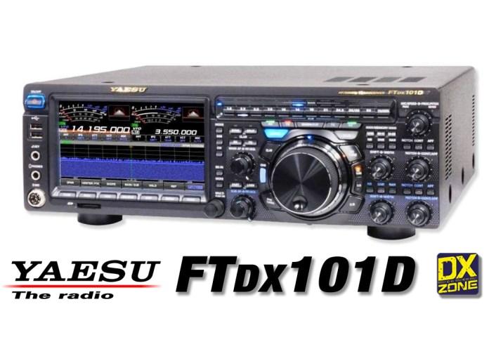 Yaesu FTDX101D  SDR HF 50MHz 70MHz – New Product