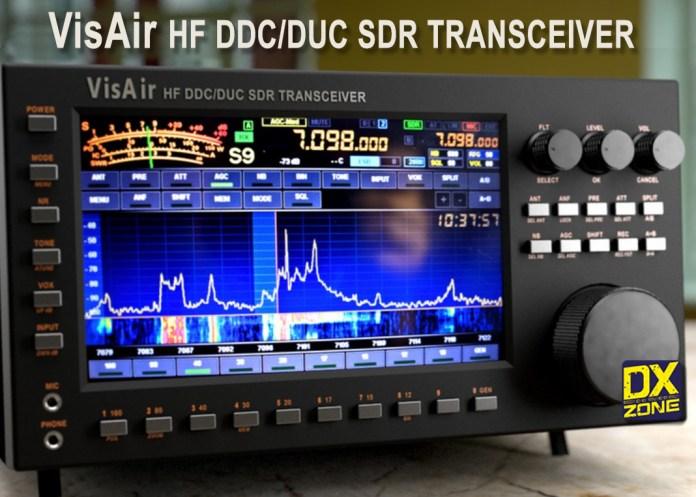 VisAir HF transceiver DDC/DUC 100W ATU