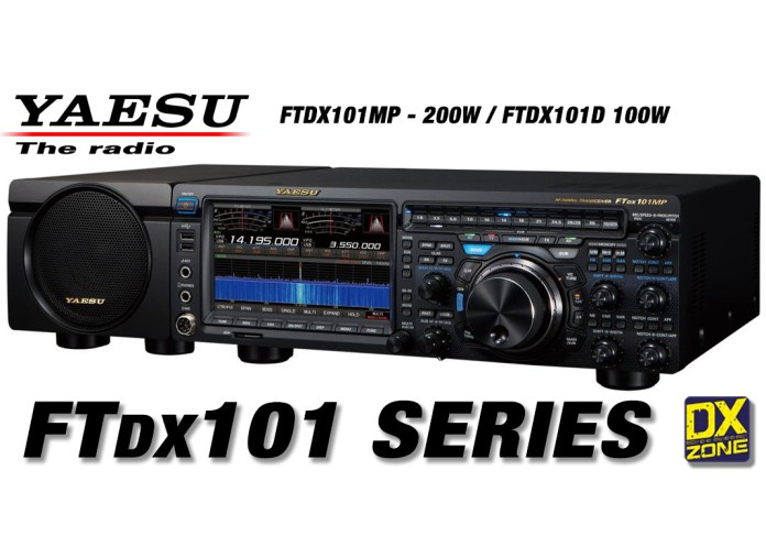 Yaesu FTdx101MP and FTdx101D – Preliminary Information