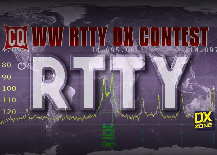 CQ WW RTTY DX Contest 2018