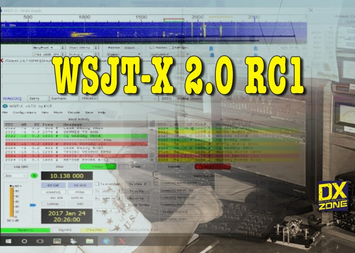 WSJT-X 2.0 RC1 –  New version with enhancements