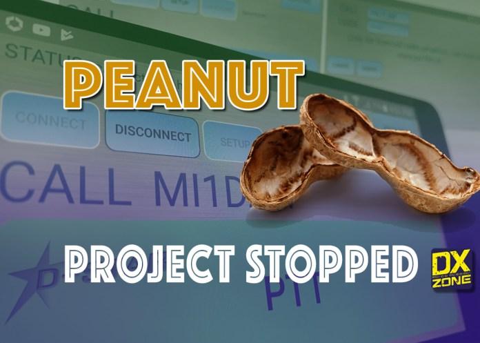 Peanut D-Star App Stopped