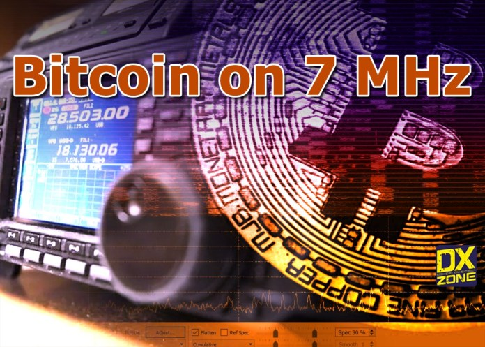 Bitcoin Sent Through Amateur Radio 40 Meters Band