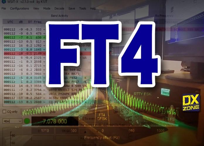 FT4 – New Digital Mode Designed for Contesting