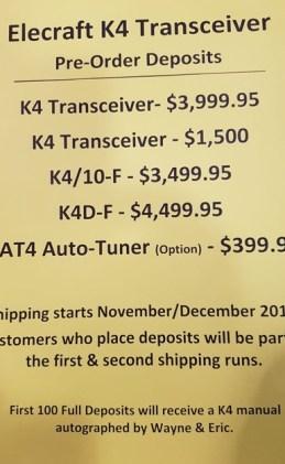 Elecraft-k4-price