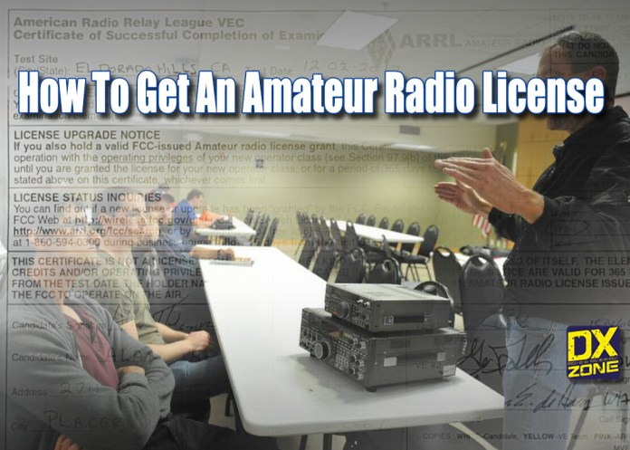 how to get amateur radio license