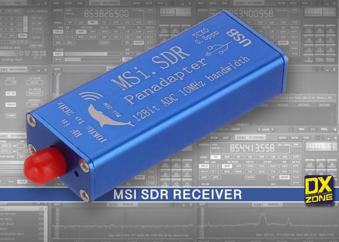 MSI.SDR Panadapter SDR Receiver