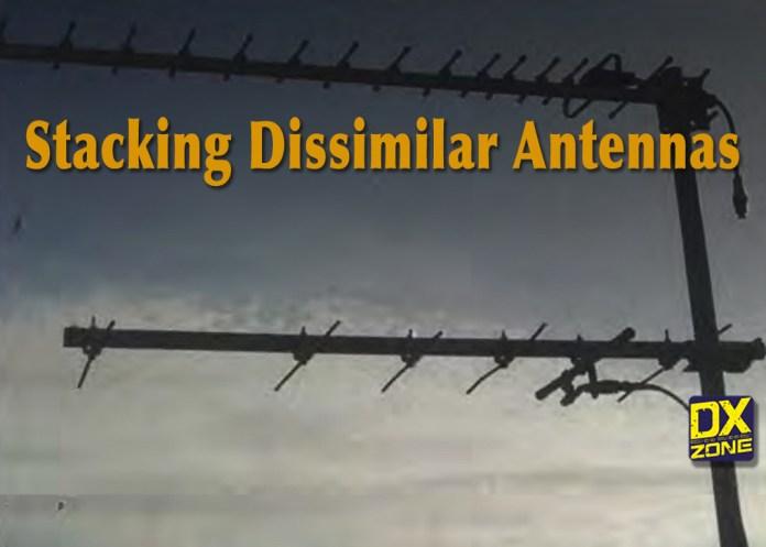 Stacking Dissimilar Yagi Antennas