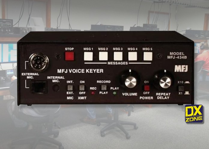 MFJ-434B DELUXE VOICE KEYER
