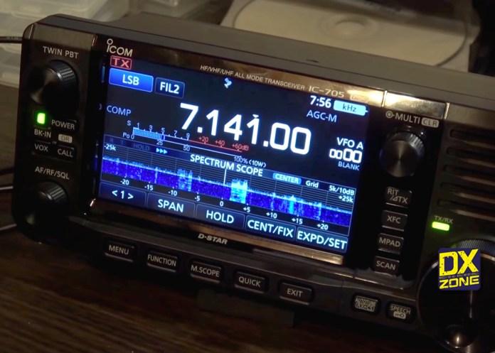 Icom IC-705 Videos