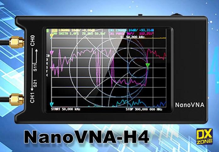 NanoVNA-H4 Vector Network Analyzer