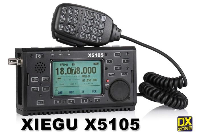 Xiegu X5105 HF+6m QRP Transceiver