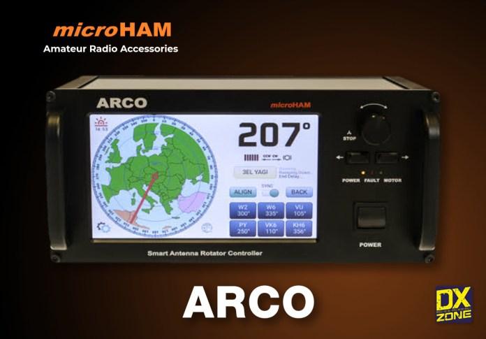 microHAM ARCO Smart Antenna Rotator Controller