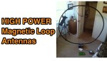Home made High Power Magnetic Loop Antennas