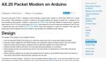 AX.25 on Arduino