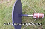 2.4 GHz Sky mini-dish Antenna