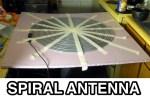 Archimedean Spiral Antenna for RTLSDR