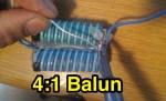 4 to 1 Balun