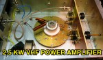 2.5KW VHF Power Amplifier